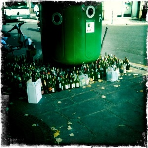 Aftermath from a Rue du Temple party