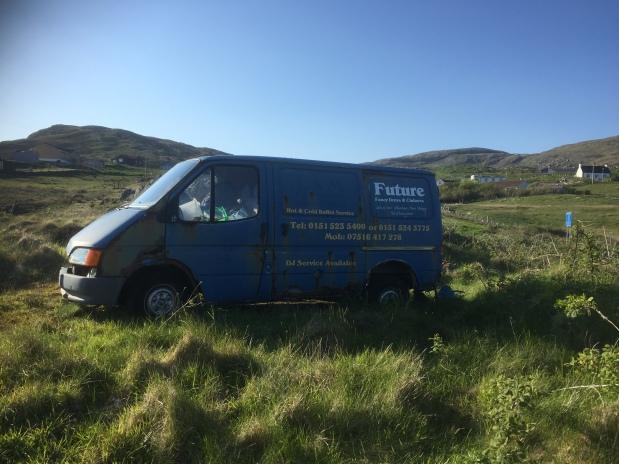 Fancy dress and clubwear travelling sales van