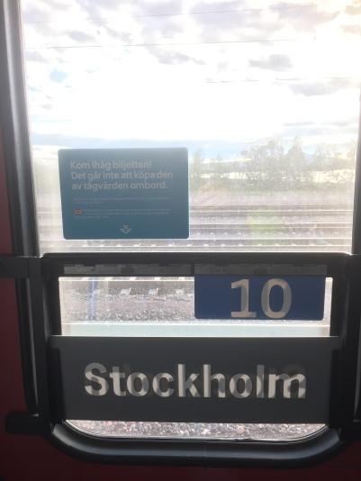 Obligatory train window shot