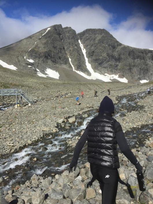 Mt Kebnekaise, Sweden's highest peak?