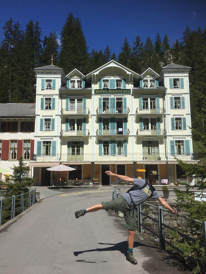 Hotel Rosenlaui - inspiration for Grand Budapest?